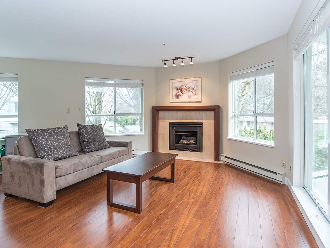 "Photo 1: 110 8651 ACKROYD Road in Richmond: Brighouse Condo for sale in ""The Cartier"" : MLS® # R2152253"