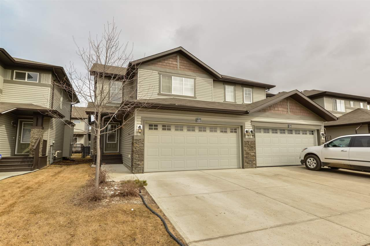 Main Photo: 48 8602 SOUTHFORT Boulevard: Fort Saskatchewan House Half Duplex for sale : MLS(r) # E4067683
