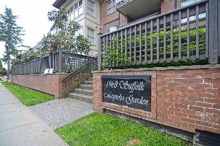 "Main Photo: 208 1988 SUFFOLK Avenue in Port Coquitlam: Glenwood PQ Condo for sale in ""MAGNOLIA GARDEN"" : MLS(r) # R2176517"