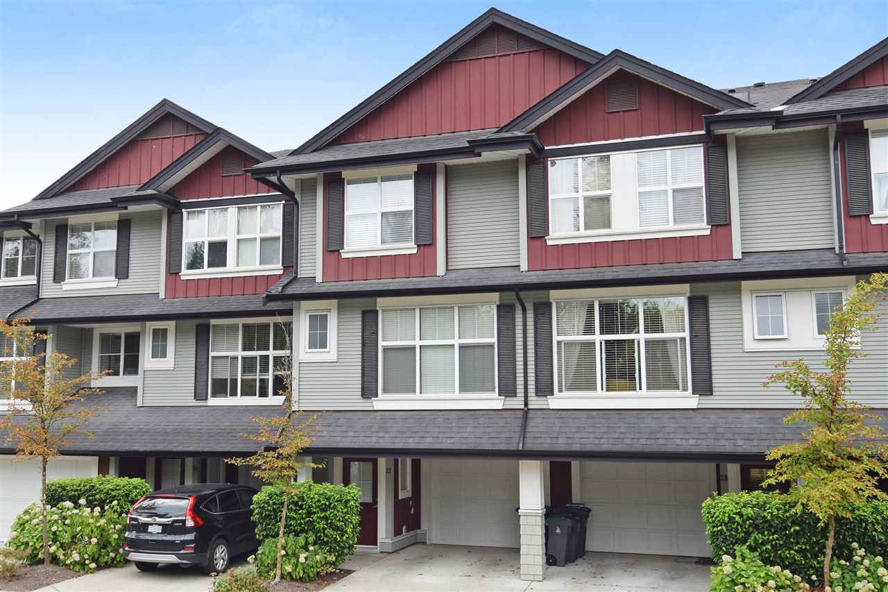 "Main Photo: 27 18199 70 Avenue in Surrey: Cloverdale BC Townhouse for sale in ""Augusta"" (Cloverdale)  : MLS® # R2198422"