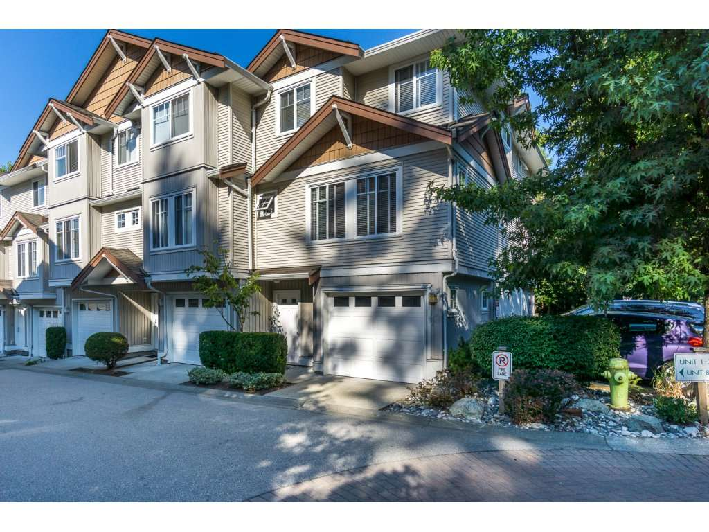 "Main Photo: 8 12711 64TH Avenue in Surrey: West Newton Townhouse for sale in ""Palette on the Park"" : MLS® # R2200679"