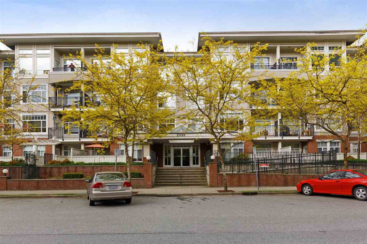 "Main Photo: 303 2353 MARPOLE Avenue in Port Coquitlam: Central Pt Coquitlam Condo for sale in ""EDGEWATER"" : MLS®# R2292587"