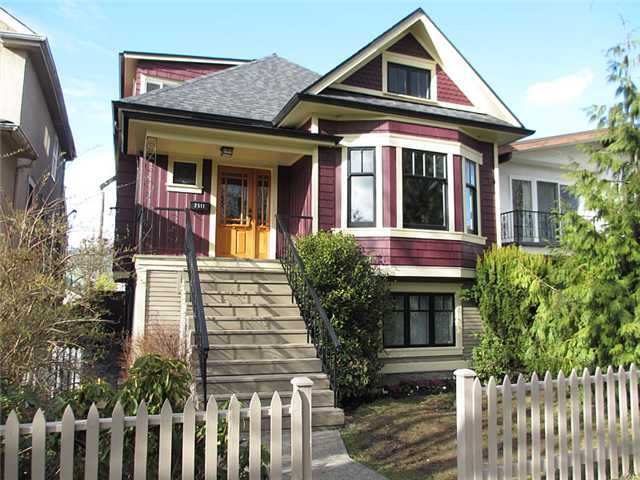 Main Photo: 2511 PANDORA Street in Vancouver: Hastings East House for sale (Vancouver East)  : MLS® # V940912