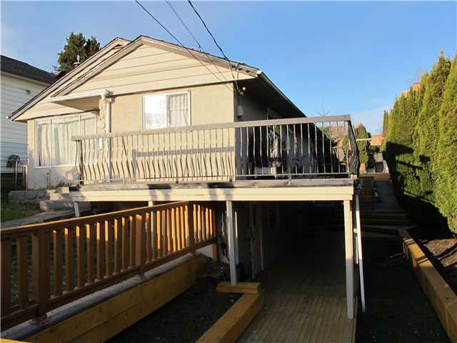 Main Photo: 311 SIMPSON Street in New Westminster: Sapperton House for sale : MLS® # V1038448