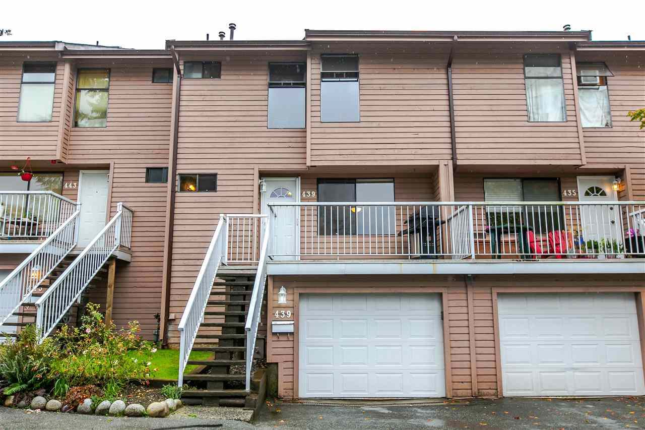 "Main Photo: 439 LEHMAN Place in Port Moody: North Shore Pt Moody Townhouse for sale in ""EAGLE POINT"" : MLS®# R2110505"