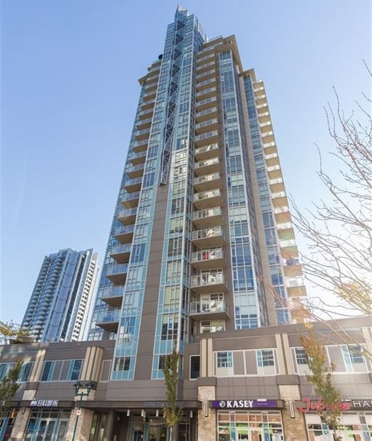 "Photo 1: 1709 3008 GLEN Drive in Coquitlam: North Coquitlam Condo for sale in ""M2 BY Cressey"" : MLS(r) # R2157698"