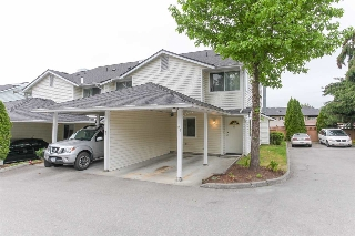 "Main Photo: 20 22411 124 Avenue in Maple Ridge: East Central Townhouse for sale in ""CREEKSIDE VILLAGE"" : MLS® # R2177898"