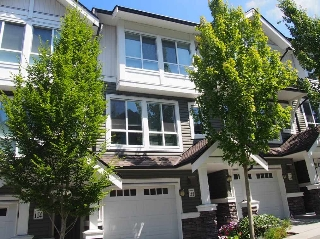"Main Photo: 112 1460 SOUTHVIEW Street in Coquitlam: Burke Mountain Townhouse for sale in ""CEDAR CREEK"" : MLS® # R2183851"