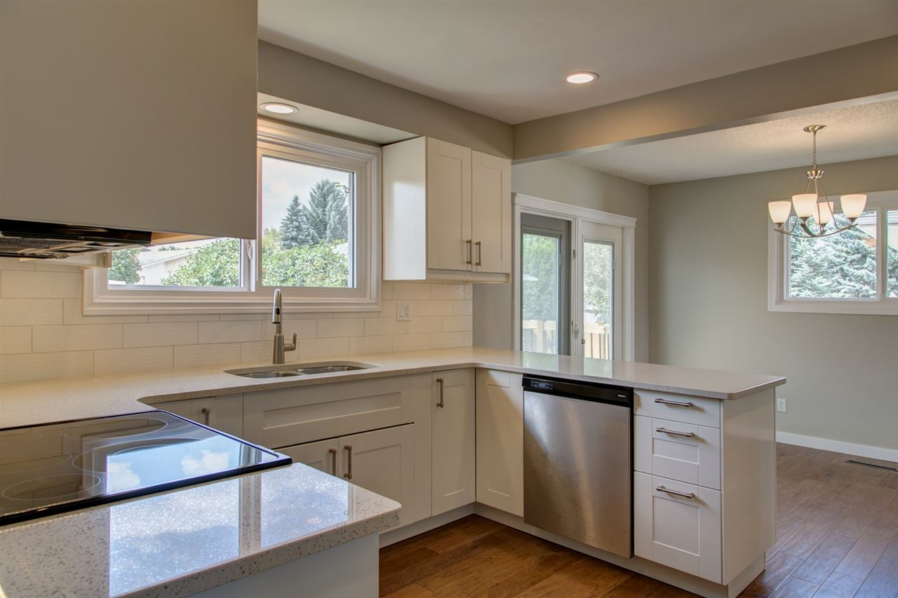 Overlook your beautiful backyard from your brand new kitchen!