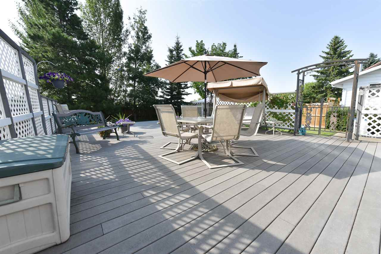 Imagine relaxing on your private, dual-level 700 sf Trex deck!
