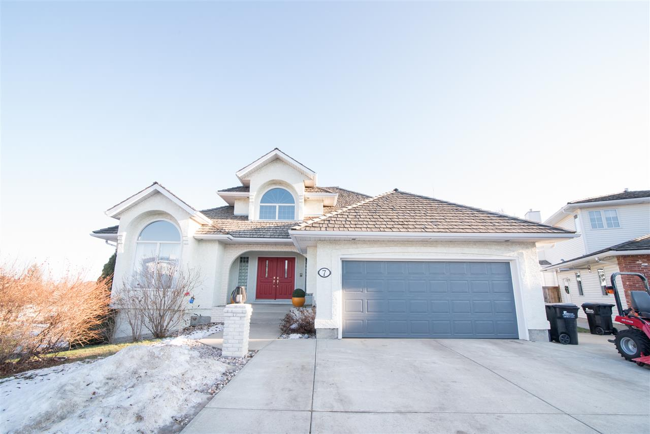 Main Photo: 7 HIGHVIEW Court: Sherwood Park House for sale : MLS® # E4090806