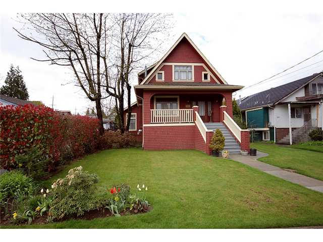 Main Photo: 808 5TH Street in New Westminster: GlenBrooke North House for sale : MLS(r) # V884755