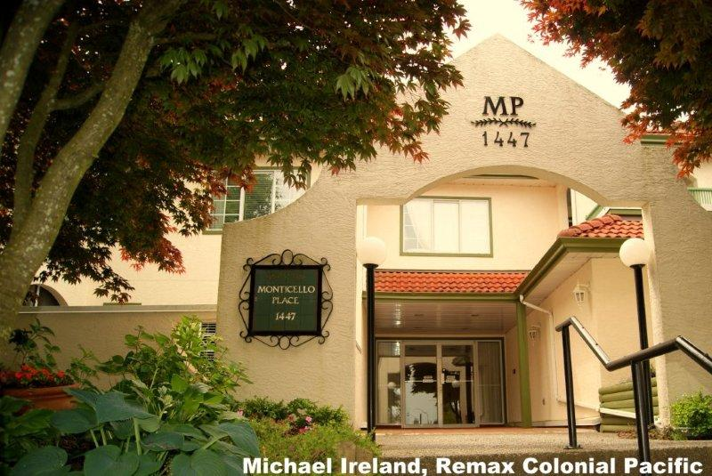 "Main Photo: 102 1447  BEST ST in White_Rock: White Rock Condo for sale in ""Monticello"" (South Surrey White Rock)  : MLS® # F1215485"