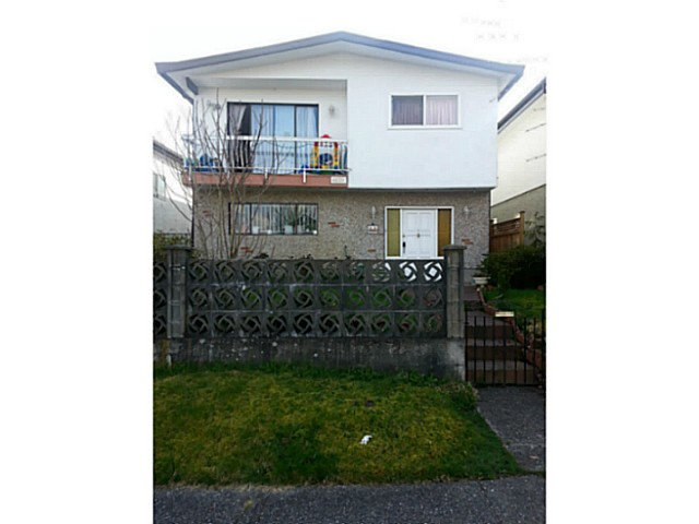 Main Photo: 4520 HARRIET Street in Vancouver: Fraser VE House for sale (Vancouver East)  : MLS®# V1056749
