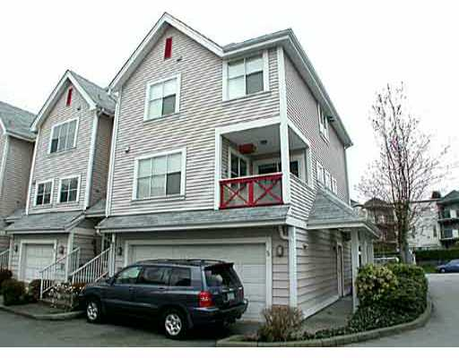Main Photo: 5 2450 HAWTHORNE AV in Port_Coquitlam: Central Pt Coquitlam Townhouse for sale (Port Coquitlam)  : MLS® # V384513