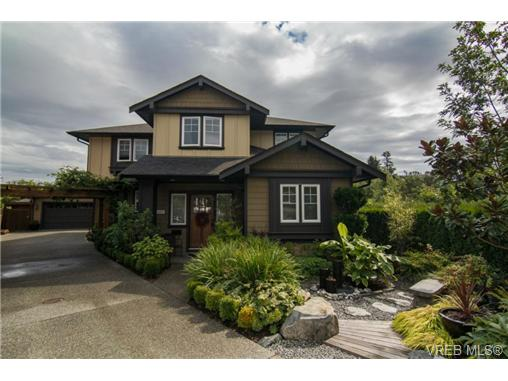 Main Photo: 4007 South Valley Drive in VICTORIA: SW Strawberry Vale Single Family Detached for sale (Saanich West)  : MLS(r) # 342297
