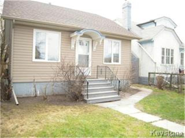 Main Photo: 404 Manitoba Avenue in WINNIPEG: North End Residential for sale (North West Winnipeg)  : MLS® # 1427269