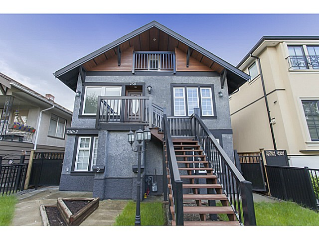Main Photo: 750 E 20TH Avenue in Vancouver: Fraser VE House for sale (Vancouver East)  : MLS®# V1120590