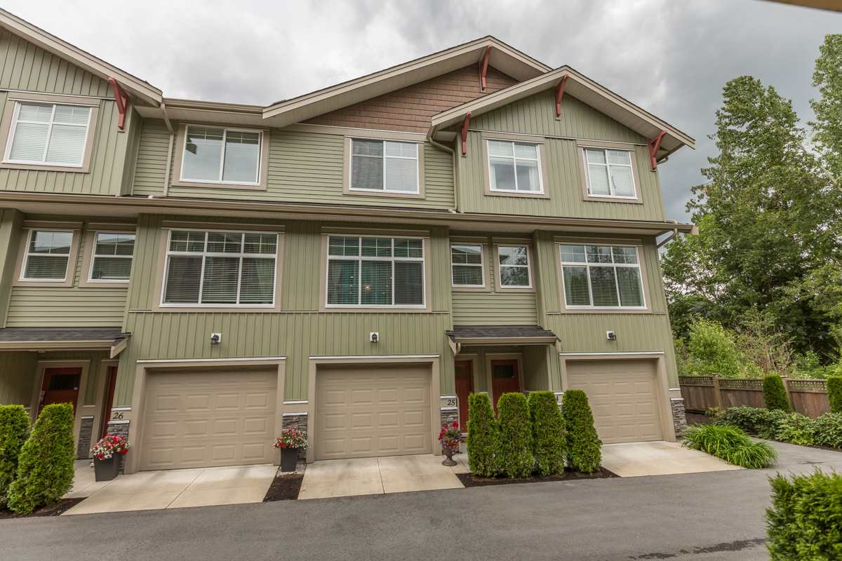 "Main Photo: 25 20967 76 Street in Langley: Willoughby Heights Townhouse for sale in ""Nature's Walk"" : MLS® # R2074394"