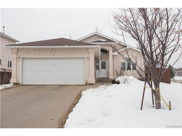 Main Photo: 3 Kendale Drive in Winnipeg: Richmond West Residential for sale (1S)  : MLS®# 1704530