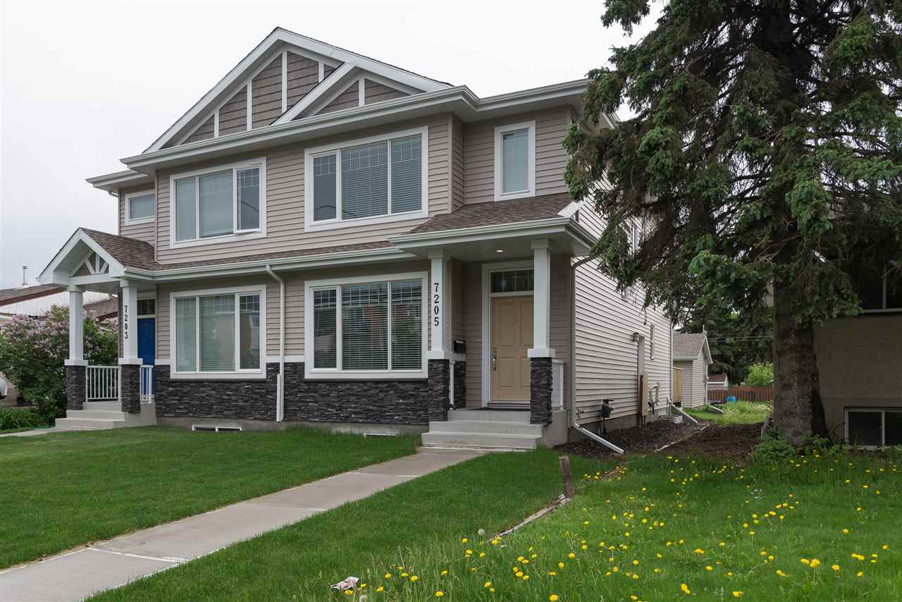 Main Photo: 7205 81 Avenue in Edmonton: Zone 17 House Half Duplex for sale : MLS(r) # E4064606