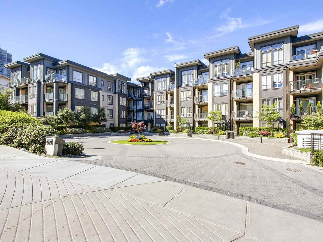 "Main Photo: 416 225 FRANCIS Way in New Westminster: Fraserview NW Condo for sale in ""WHITTAKER"" : MLS®# R2184698"
