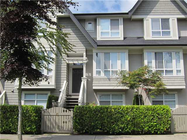 Main Photo: 85 9133 SILLS Avenue in Richmond: McLennan North Townhouse for sale : MLS(r) # V892712