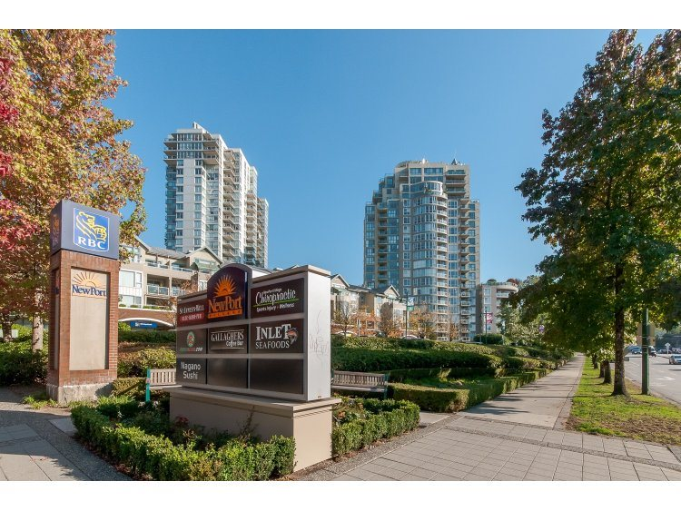 "Photo 1: 607 200 NEWPORT Drive in PORT MOODY: North Shore Pt Moody Condo for sale in ""THE ELGIN AT NEWPORT VILLAGE"" (Port Moody)  : MLS® # R2006065"
