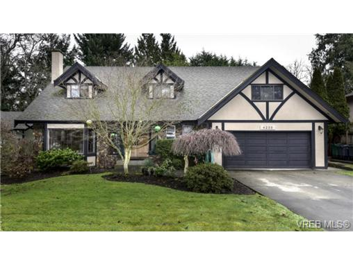 Main Photo: 4239 Lynnfield Crescent in VICTORIA: SE Mt Doug Single Family Detached for sale (Saanich East)  : MLS®# 359578