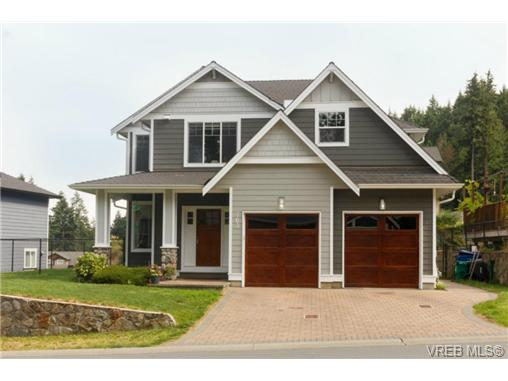 Main Photo: 763 Hanbury Place in VICTORIA: Hi Bear Mountain Single Family Detached for sale (Highlands)  : MLS® # 366316