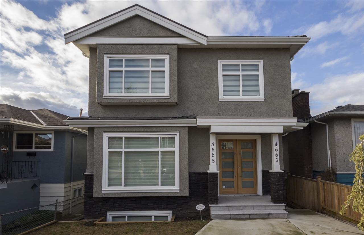 Main Photo: 4665 RUPERT Street in Vancouver: Collingwood VE House for sale (Vancouver East)  : MLS® # R2139740