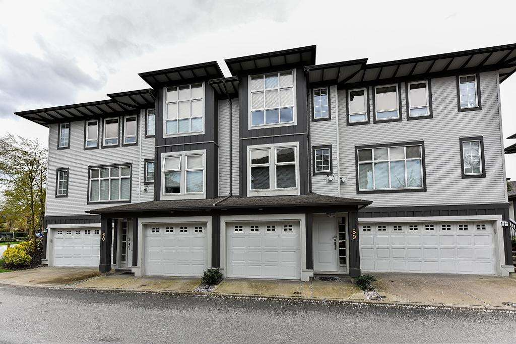 "Main Photo: 59 18777 68A Avenue in Surrey: Clayton Townhouse for sale in ""Compass"" (Cloverdale)  : MLS® # R2156766"