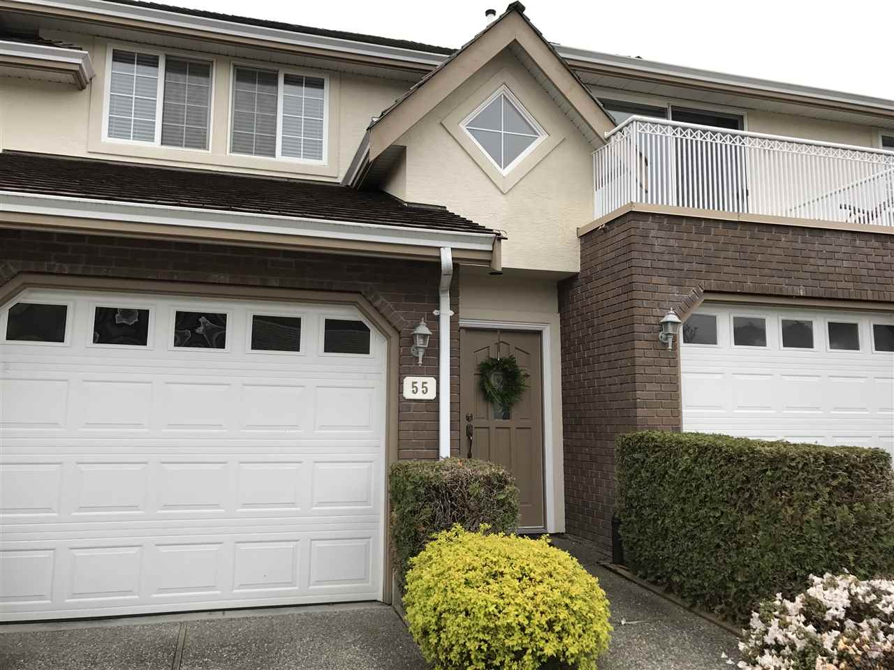"Main Photo: 55 31450 SPUR Avenue in Abbotsford: Abbotsford West Townhouse for sale in ""Lake Point Villa"" : MLS®# R2157955"