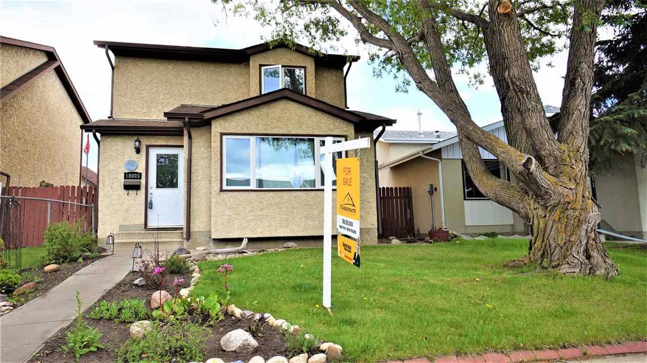 Main Photo: 18003 93 Street in Edmonton: Zone 28 House for sale : MLS(r) # E4061350
