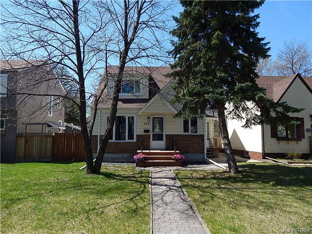 Main Photo: 483 Waverley Street in Winnipeg: Residential for sale (1C)  : MLS®# 1711108