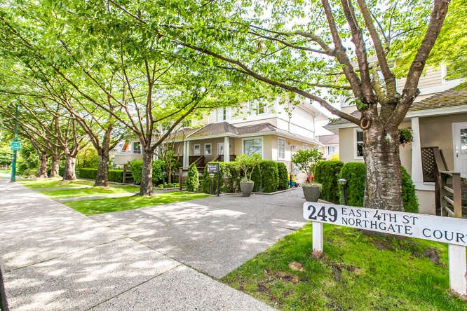 Main Photo: 8 249 E 4th Street in North Vancouver: Lower Lonsdale Townhouse for sale : MLS(r) # R2117542