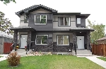Main Photo: 8309 81 Avenue in Edmonton: Zone 17 House Half Duplex for sale : MLS® # E4071757
