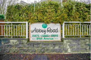 "Main Photo: 108 15885 84 Avenue in Surrey: Fleetwood Tynehead Condo for sale in ""ABBEY ROAD"" : MLS® # R2231250"