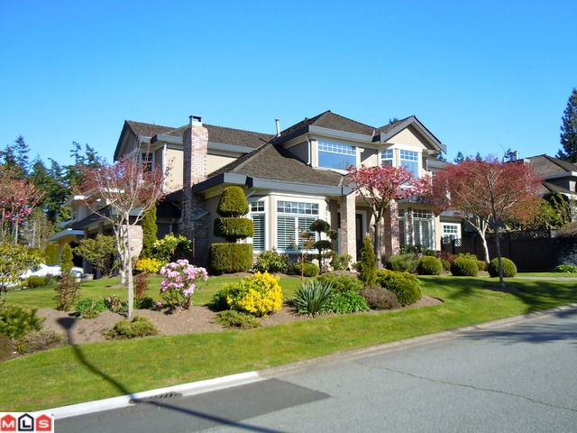 "Main Photo: 2538 149A Street in Surrey: Sunnyside Park Surrey House for sale in ""Sherbrooke Estates"" (South Surrey White Rock)  : MLS®# F1114373"
