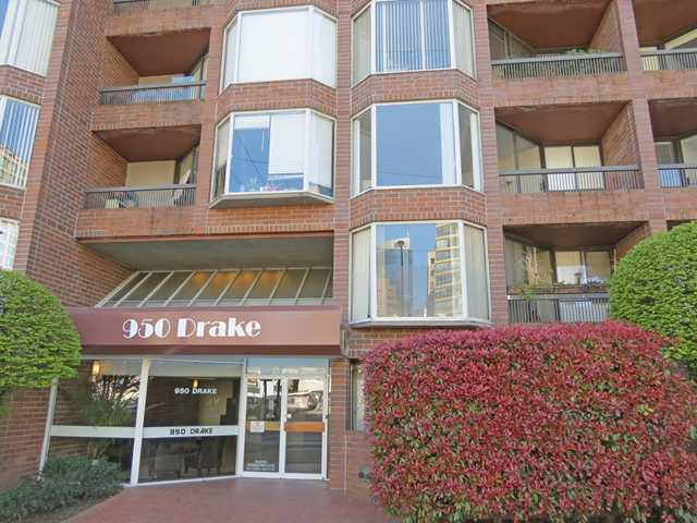 "Main Photo: 308 950 DRAKE Street in Vancouver: Downtown VW Condo for sale in ""ANCHOR POINT 2"" (Vancouver West)  : MLS(r) # V1059674"