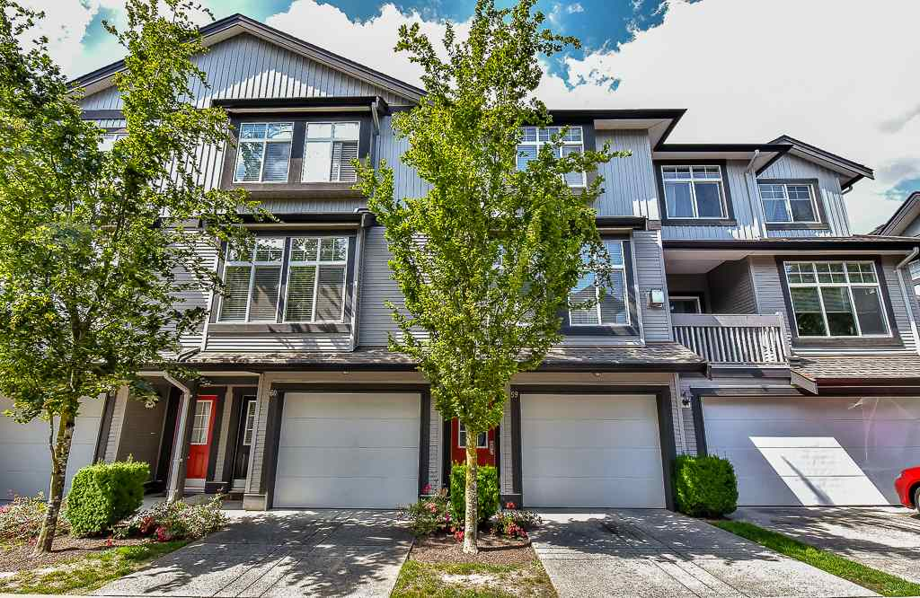 "Main Photo: 59 18828 69 Avenue in Surrey: Clayton Townhouse for sale in ""STARPOINT"" (Cloverdale)  : MLS(r) # R2081290"