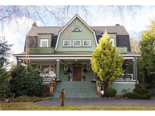 Main Photo: 528 St. Charles Street in VICTORIA: Vi Rockland Single Family Detached for sale (Victoria)  : MLS® # 373374