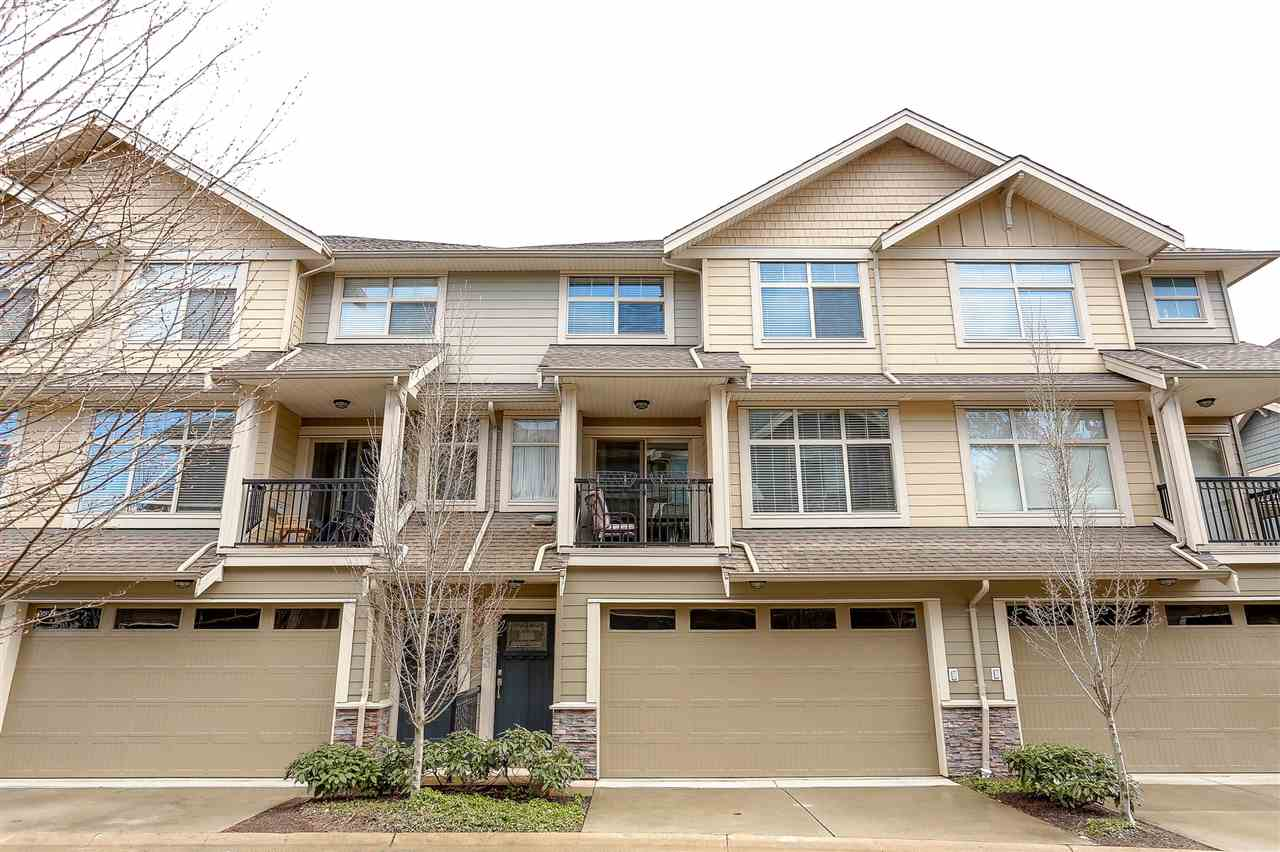 "Main Photo: 53 22225 50 Avenue in Langley: Murrayville Townhouse for sale in ""Murray's Landing"" : MLS(r) # R2148704"