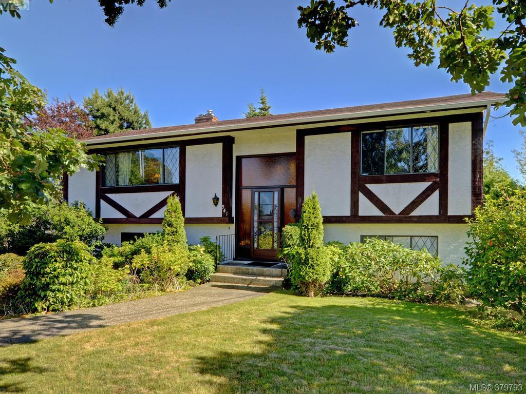 Main Photo: 541 Kenneth Street in VICTORIA: SW Glanford Single Family Detached for sale (Saanich West)  : MLS(r) # 379793