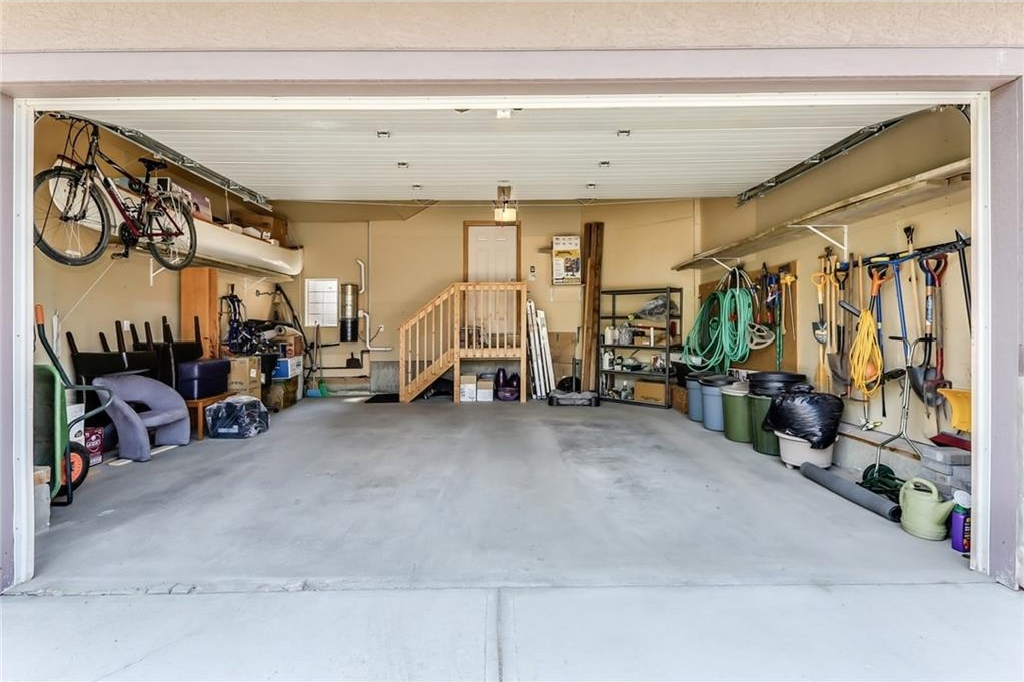 Double Oversized Attached Garage