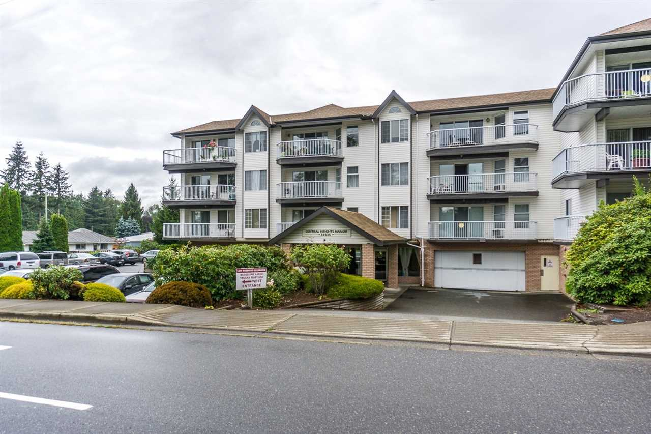 "Main Photo: 213 33535 KING Road in Abbotsford: Poplar Condo for sale in ""Central Heights Manor"" : MLS® # R2223024"