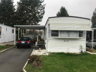 "Main Photo: 249 1840 160 Street in Surrey: King George Corridor Manufactured Home for sale in ""BREAKAWAY BAYS"" (South Surrey White Rock)  : MLS® # R2237420"