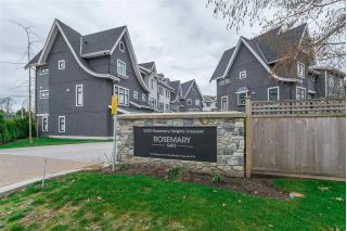 "Main Photo: 15 3303 ROSEMARY HEIGHTS Crescent in Surrey: Morgan Creek Townhouse for sale in ""Rosemary Gate"" (South Surrey White Rock)  : MLS® # R2249561"
