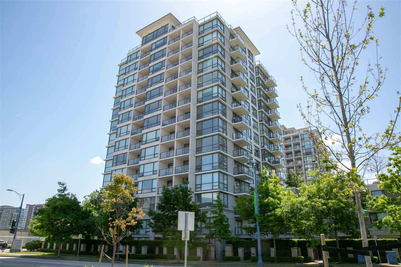 "Main Photo: 707 7575 ALDERBRIDGE Way in Richmond: Brighouse Condo for sale in ""OCEAN WALK"" : MLS®# R2281253"