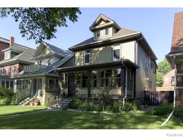 Main Photo: 139 Home Street in WINNIPEG: West End / Wolseley Residential for sale (West Winnipeg)  : MLS® # 1517545